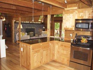Lakefront Cabin Retreat