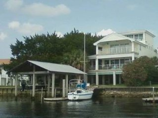 Fly-in available, Best view in Steinhatchee, Be out on the water in minutes.