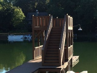 Experience Lake Life in this Cozy Cabin with Huge Back Deck!  WiFi available