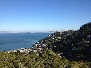 Urban Oasis-stunning views of San Francisco, Alcatraz & Bay