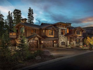OLD WORLD EUROPEAN LUXURY CHALET-SKI IN/OUT-8,000 SF-WINTER ON SALE