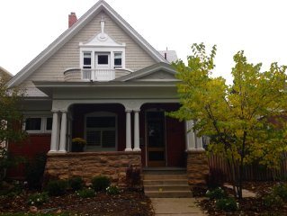 Charming Mapleton Hill Victorian In Downtown Boulder