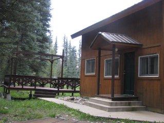 Crosshouse Cabin on Vallecito Creek