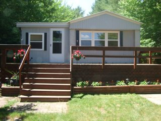 Gaylord, MI, Otsego Lake Beachfront Home, Golf, Swim, Ski, Snowmobile