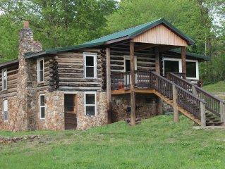 'For Old Time's Sake' Log Cabin