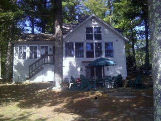 Year Round Lakefront Home On Beautiful Little Ossipee Lake