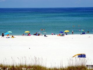 A true Beach Condo.  The best view on Treasure Island.  2 Bedroom 2 Bath.