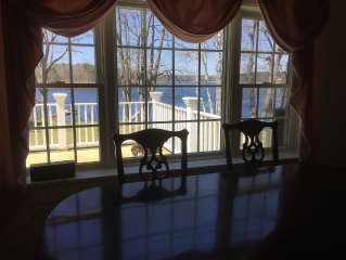 Enjoy sunsets from your private deck, gazebo or pool patio. Walk to Ferry beach.