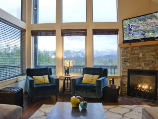 *Amazing views!*  Roslyn Ridge 4 bed/3 bath, sleeps 8, private setting
