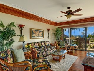 Lae Nani 231...Awesome Oceanfront- a view to die for and interior to match