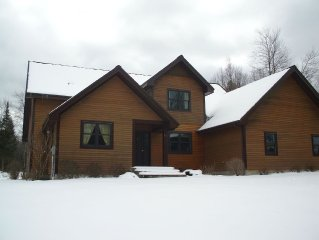 4 BDR/2 bath home located one mile outside the village of franconia,NH