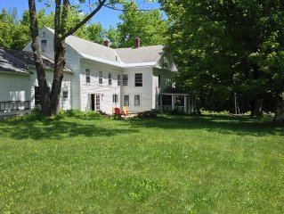 Beautifully Renovated Old Colonial In Secluded Berkshires