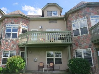 Northwest Wi. Lakefront Condo at Tagalong Golf and Resort Unit 304