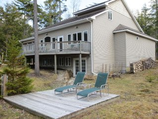 Beautiful Waterfront Adirondack Mountain Home