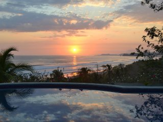Our Blue Heron Villa, On the Beach at Costa De Oro, Guanacaste, Costa Rica