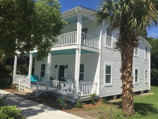 Walk To It All In Downtown Apalachicola! Stay A Month For The Price Of A Week!