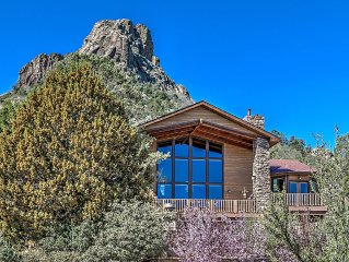 Rustic Mountain Elegance, close to all of Prescott's charm.