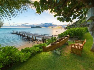 The Ideal Honeymoon Cottage:  Quiet, Beachfront & Comfortable +  EPIC VIEWS!