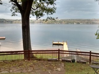 Cayuga Lakefront Cottage, Ten Minutes To Ithaca Or Trumansburg