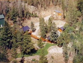 Rent Just The Main Cabin Or Add On The Bunkhouse For A Big Retreat