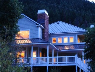 New Discount Year Round Rates - Luxury  Mountain Retreat on a Stream