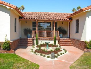Historic Spanish Style Monthly Rental in the Heart of Downtown San Luis Obispo