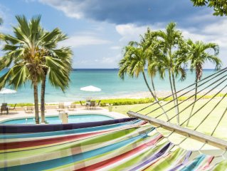 On The Beach - A Cayman Gem!  Conveniently Located And Newly Renovated