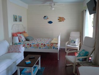 Brand New Studio Accommodations On Guana Cay For