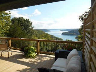 Private Cabin,  lake view, Grille, Fire ring, optional Hot Tub, 2-8 guests