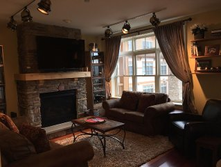 Luxury 2 Bedroom Duplex Condo Across The Street From Base Of Stratton Mountain
