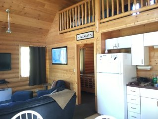 Middle River Cabin ~ Just steps from the Kenai River