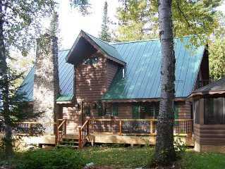 Grove Island Lodge: A relaxing Island retreat on Lake Vermilion