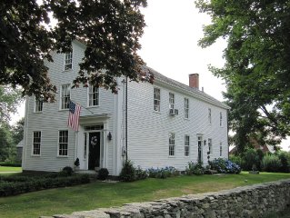 Historic Captain Philip Cory House - Circa 1770 - Offered by Sakonnet Farm