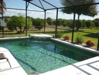Enjoy Beautiful Orange Grove Views from Stunning Luxury Villa