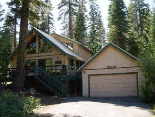 Cozy 3bd/2ba Home Close to Kings Beach, Hiking & Skiing. Pet friendly, woof!