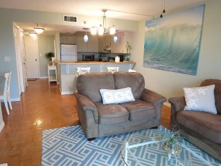 Clean & Bright Oceanfront Condo *Military & First Responders Discount*