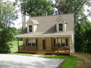 Brand New Cottage On Etowah River with Pond and near Wineries and Downtown