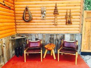 'New' Cowboy Cabin (Near Glacier National Park & Whitefish MTN Ski Resort)