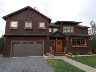 New Waterfront Adirondack Home in Lake Placid Village (4 Bedrooms, 3 1/2 baths)
