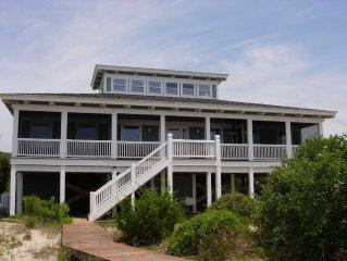 Oceanfront Timber-Frame Home