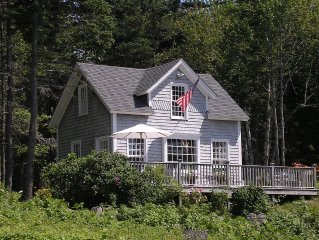 Port Clyde! Direct Waterfront! Charming Cottage! Private Dock & Sunset Views!