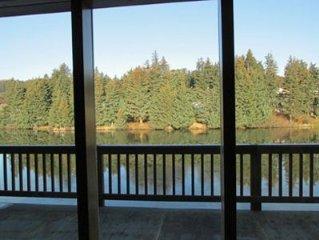 Lake Views With Genuine Rugged Alaska Ambiance!