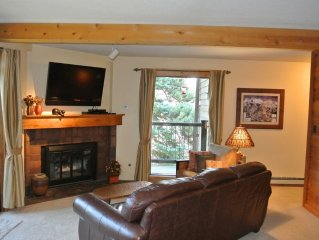 Ski In 2 BR/2BA Cozy Condo on Four O'Clock Run