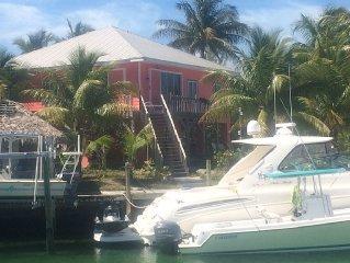 Pink Paradise Treasure Cay, Bahamas - Waterfront Home On Marina