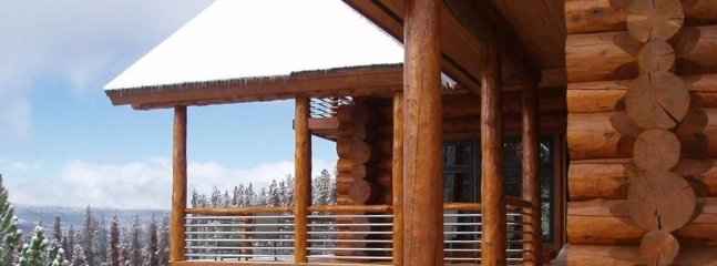 Handcrafted custom log work