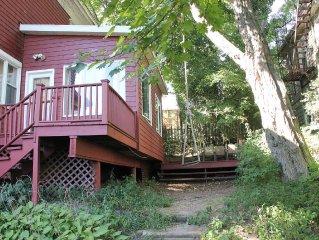 Hilltop Victorian House with Garden Near Staten Island Ferry