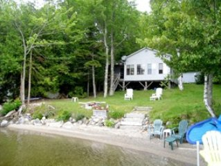 Branch Lake Cottage with private beach