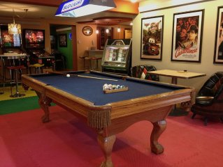 Family Reunions & Corporate ReTreats; Theatre; Game Parlor; Sauna