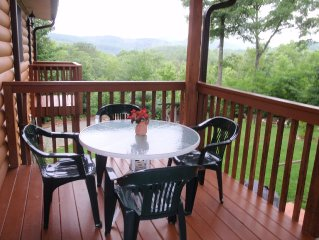 Special Summer Rates on Fabulous Mt. Cabin on 34 acres