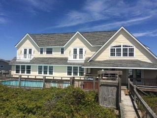7 Bedroom, 7 Bath Oceanfront home with Oceanfront Heated Pool!